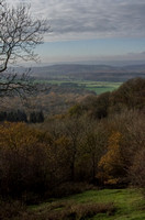 Looking towards the Cotswolds from the Malvern Hills