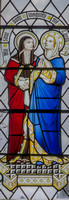 The Visitation, by Geoffrey Webb (1946) St Mary, Driffield, Gloucestershire,