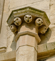 Ballflower, South Aisle, Gloucester Cathedral