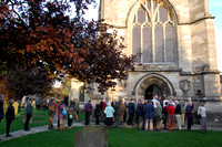 A concert interval at St Mary's, Tetbury