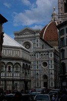 The Baptistery and Cathedral, Florence