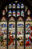 The wedding feast at Cana (John 2, verses 1 to 10) - window by Hardman Powell, St Mary's, St Neots, Huntingdonshire