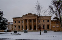 "Thirlestaine House, ""the grandest neo-Greek house in Cheltenham."" (Pevsner) by J.R. Scott, 1820"