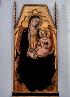 Madonna and child by Taddeo di Bartolo, Colle di Val d'Elsa