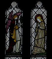 Burne-Jones Annunciation in St James' Chapel