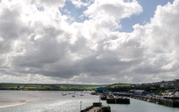 Padstow Harbour and the Camel River