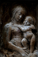Madonna and child, in Via Faenza, Florence