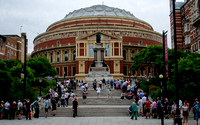 Queuing for the Proms at the Royal Albert Hall: 23rd July 2013 (Die Walküre)