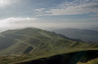 On the Malvern Hills, looking South