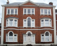 Perrott House, Bridge Street, Pershore, Worcestershire (c1760, Baron Perrott, its builder, was a Baron of the Exchequer)