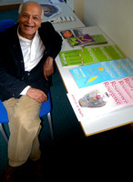 Satish Kumar, Editor of Resurgence, at the University of Gloucestershire