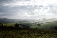 Coldwell Bottom and the Churn Valley, from Barber Wood: 12th October 2014