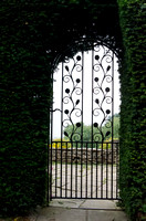 Arts and Crafts gate, Glenfall House, Gloucestershire