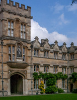 University College, Oxford - the Radcliffe Quad