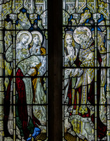The Risen Christ (Kempe, 1895), St Lawrence, Bourton-on-the-Water, Gloucestershire