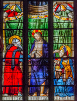 Chapel of Our Lady, Auch Cathedral: from left, St Thomas with Jesus and Mary Magdalene (the work of Arnaud de Moles - between 1507 and 1513)